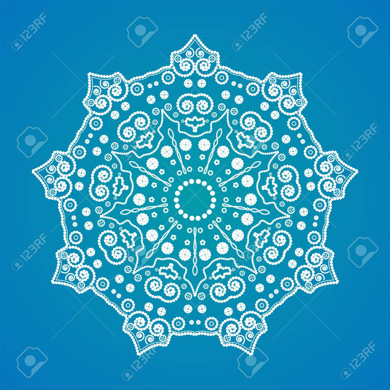 Buddhist Philosophy Mandala Pattern On The Background Yoga Asanas And Meditation Indian Knowledge