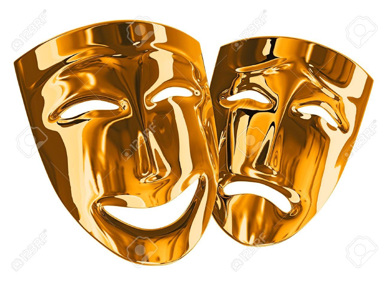 Znalezione obrazy dla zapytania maski teatralne