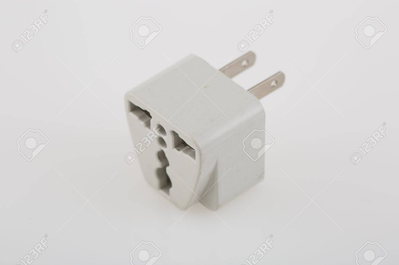 Three Way Plug Adapter Stock Photo, Picture And Royalty Free Image ...