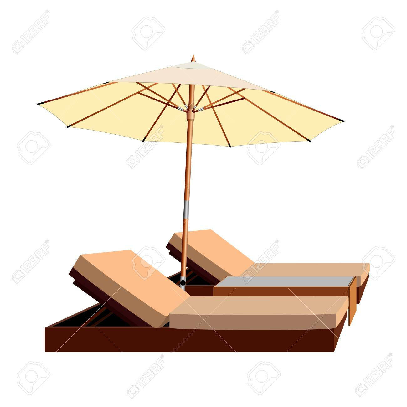 clip cliparts clipart image beach png art free download and chair umbrella chairs