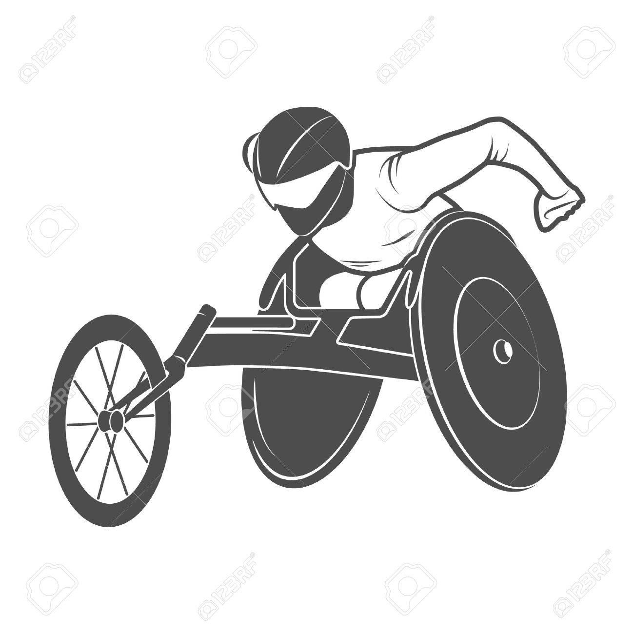 Icono Ruedas Silla Río DeshabilitadoFoto Ilustración La De Paralímpico 5jAR4L
