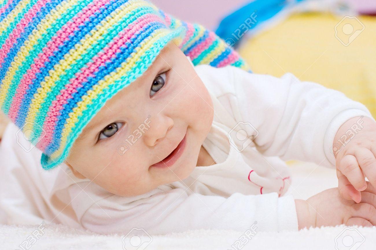stock photo sweet baby girl - Sweet Baby Girl