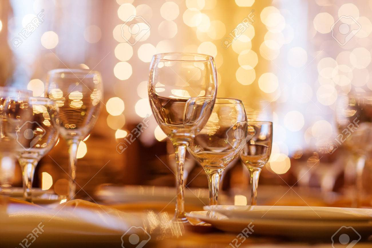 beautifully served table in a restaurant - 22206800