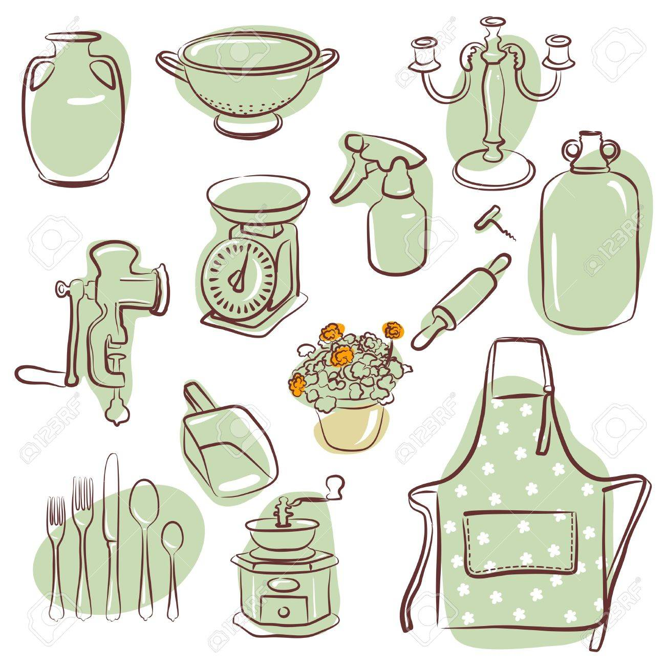 home icons Stock Vector - 11159545