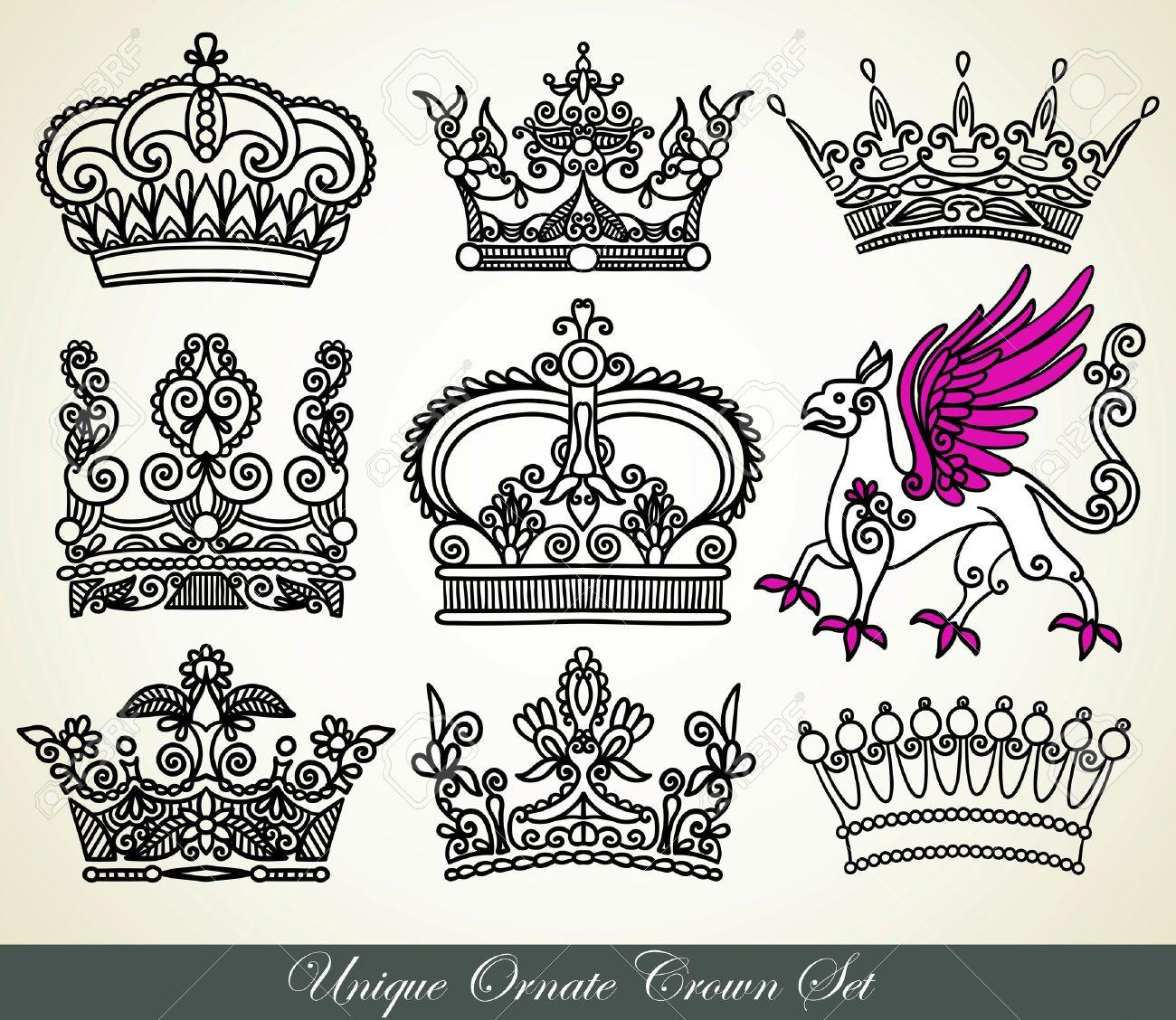 crown set  crown  tatt...