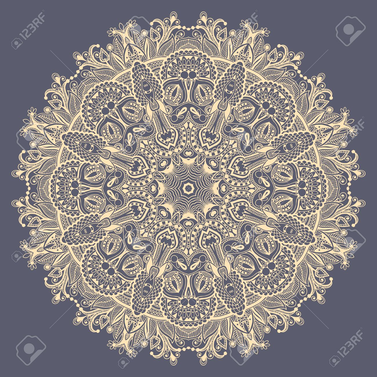 Mandala circle decorative spiritual indian symbol of lotus flower mandala circle decorative spiritual indian symbol of lotus flower round ornamental lace pattern mightylinksfo
