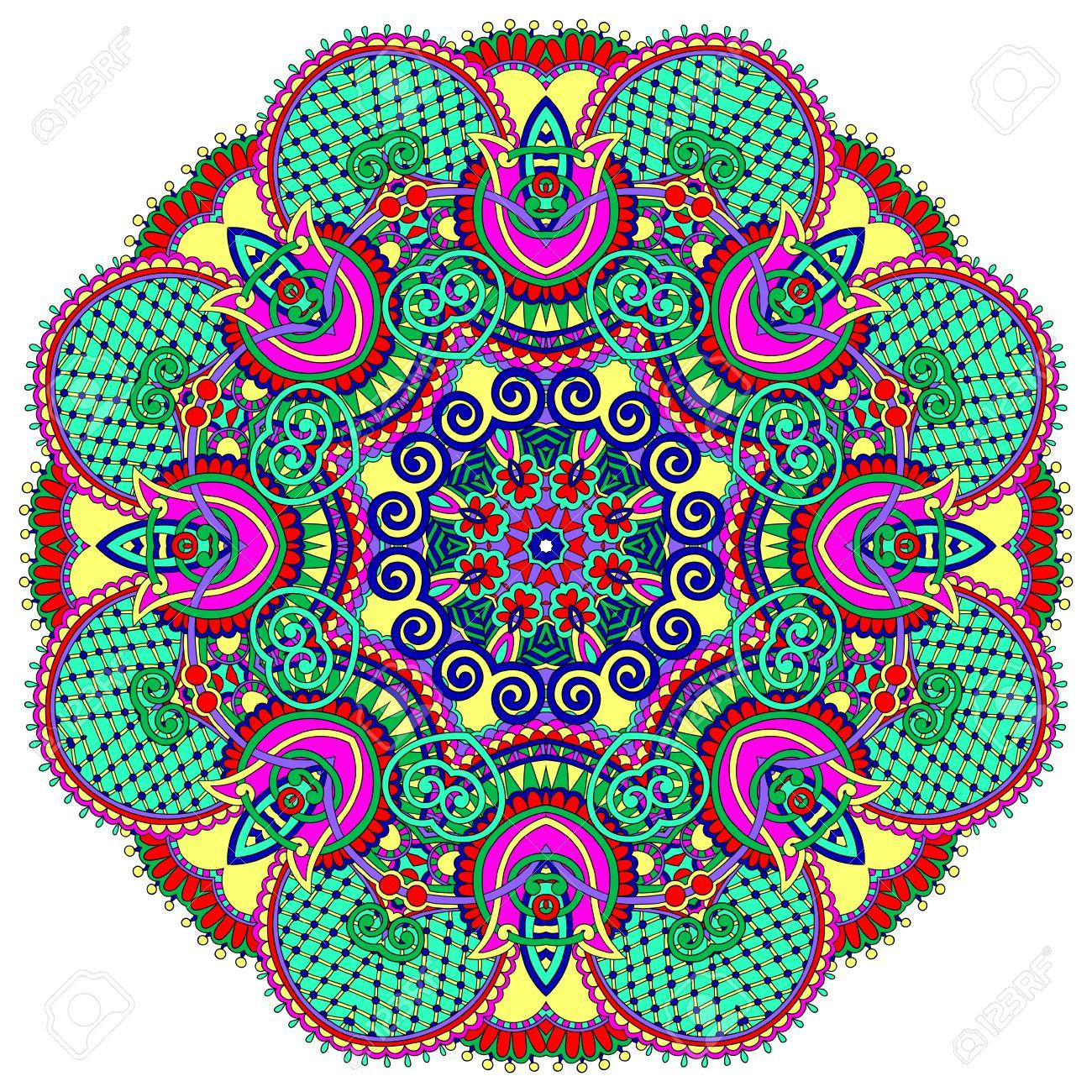 Mandala circle decorative spiritual indian symbol of lotus flower mandala circle decorative spiritual indian symbol of lotus flower round ornament pattern vector mightylinksfo