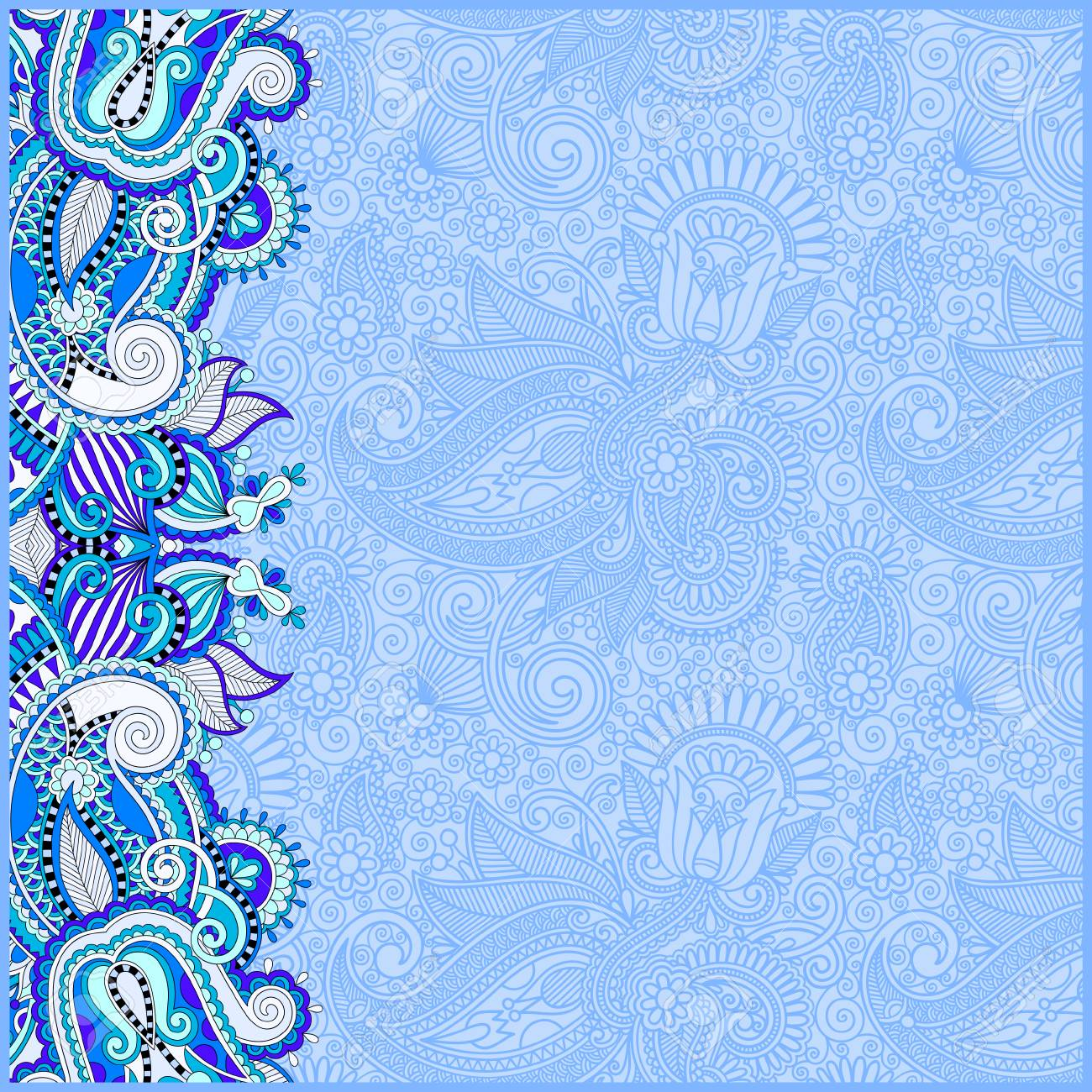blue invitation card background hd