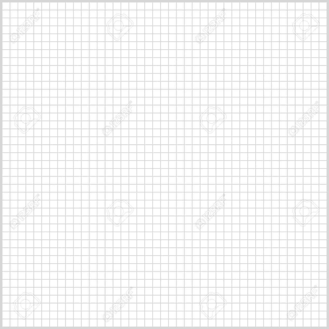 Square Background Lined Sheet Of Paper For Print Or Design Royalty