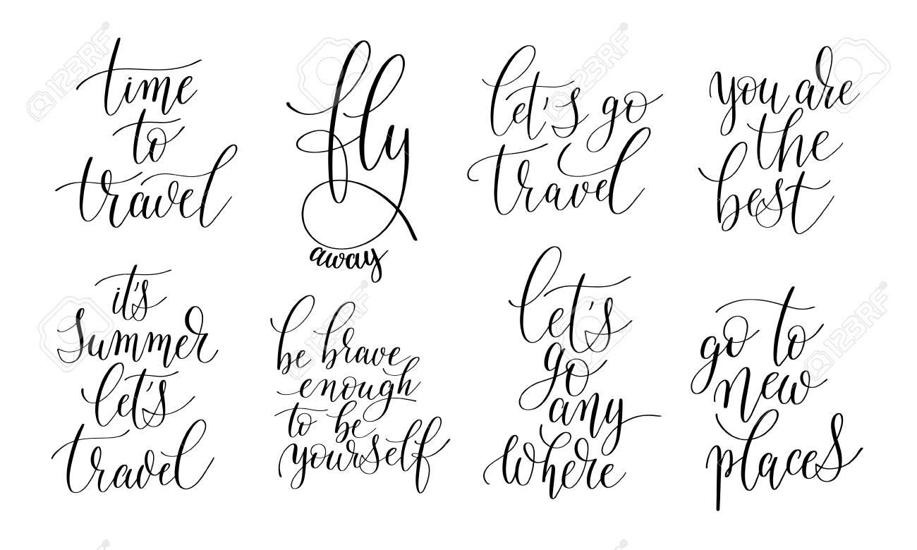 Einzigartig Zitaten Leben Beste Wahl Satz Von 8 Hand Geschrieben Schriftzug Positive