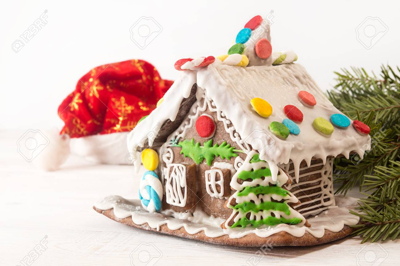 Christmas Gingerbread House.Gingerbread House European Christmas Holiday Traditions Christmas