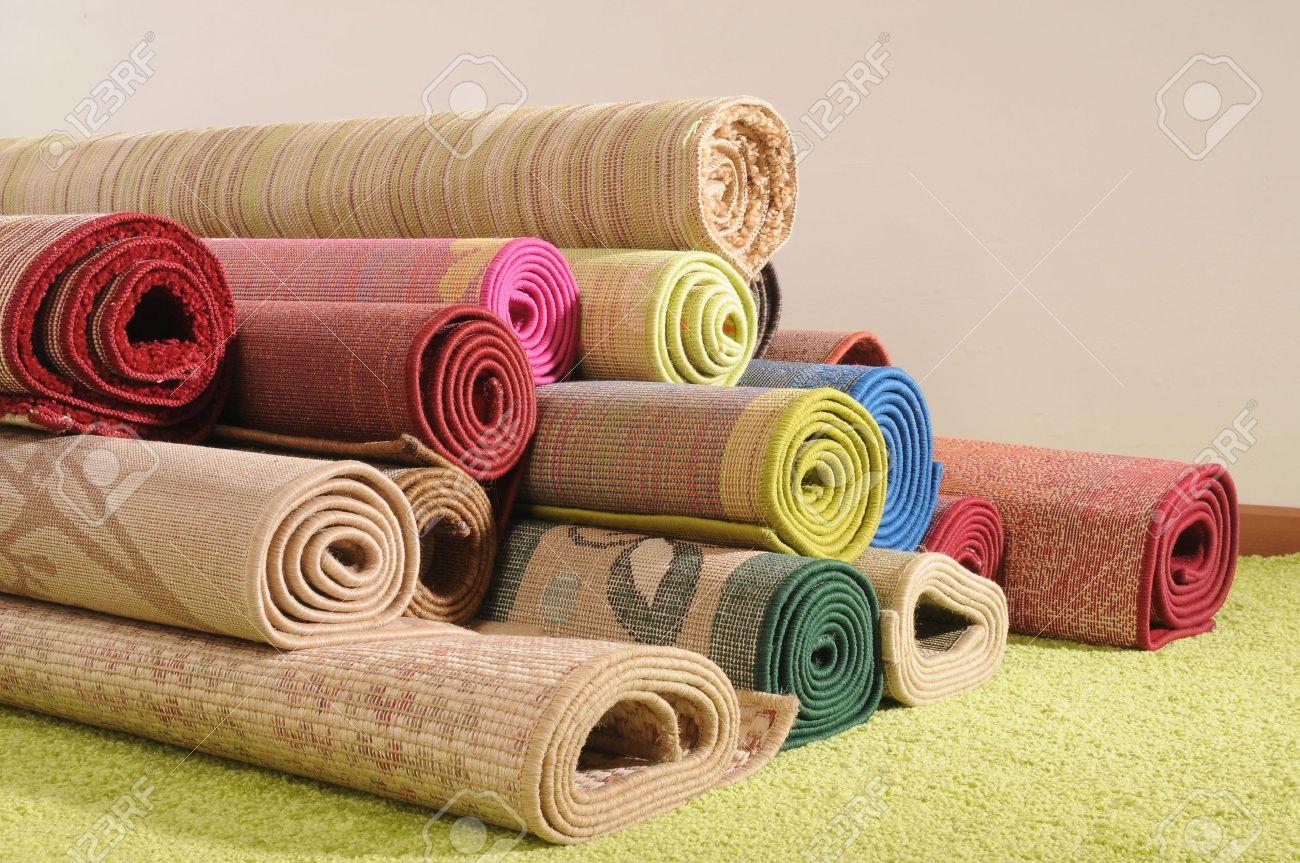 carpet roll. oriental rugs. see morestock photo - 4310577 carpet roll r