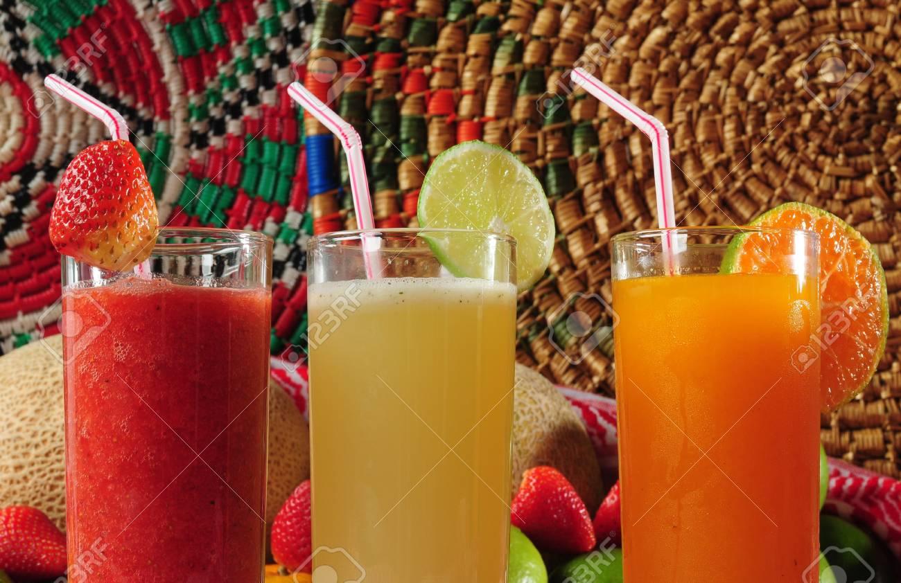 Tropical Juice. Stock Photo - 4474157