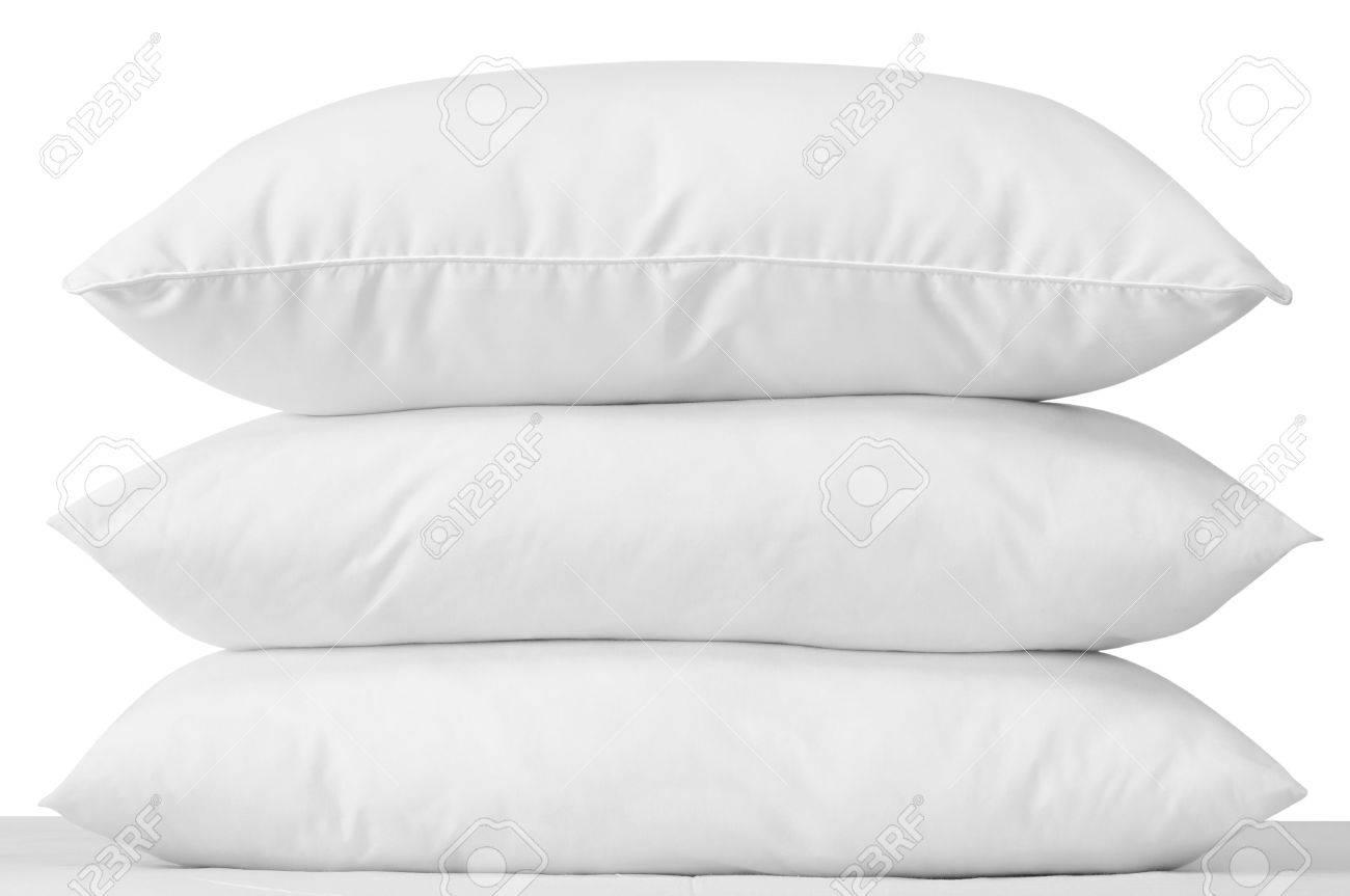 Triple pillows. Stock Photo - 4734179