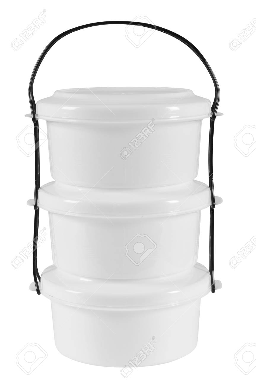 Food container. Isolated Stock Photo - 7432491
