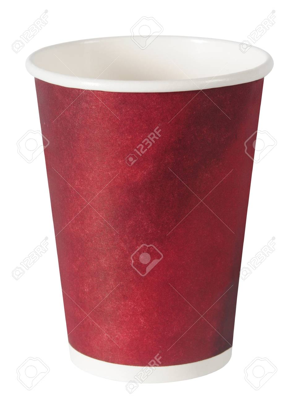 Empty cup. Isolated Stock Photo - 7746389