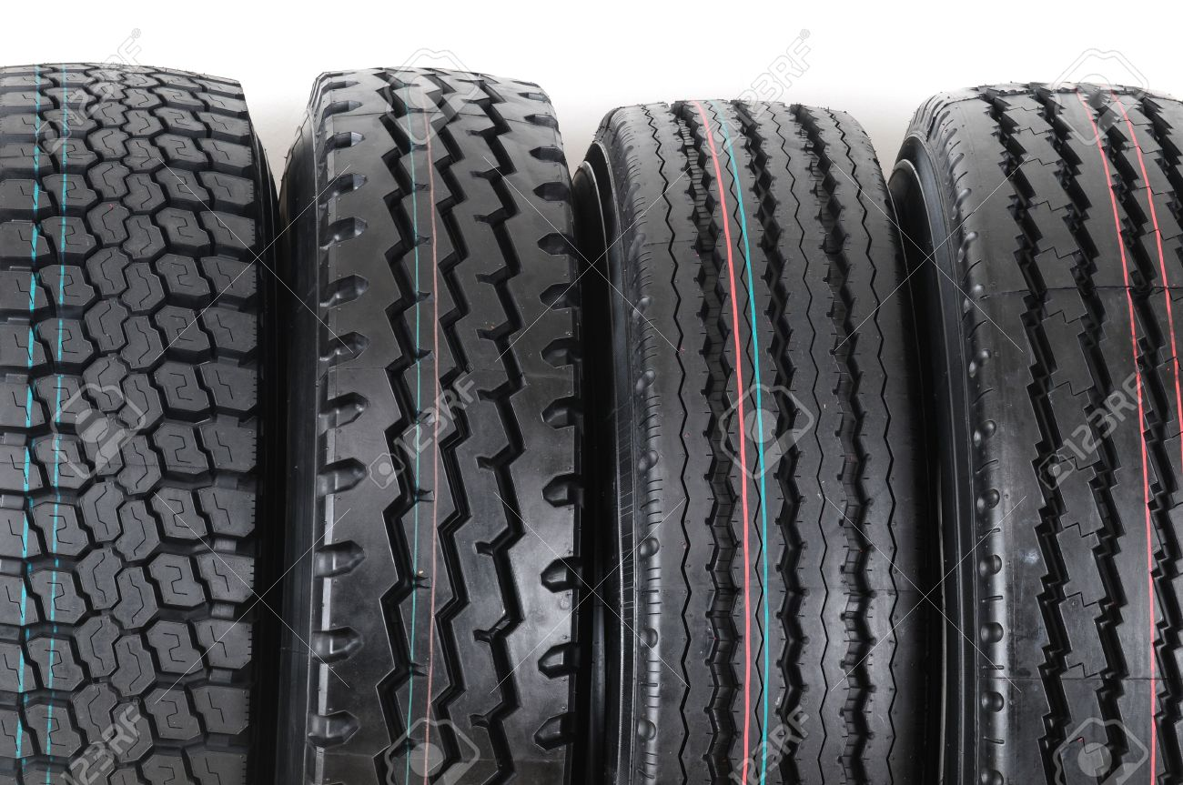 Tire stack. Stock Photo - 8180525