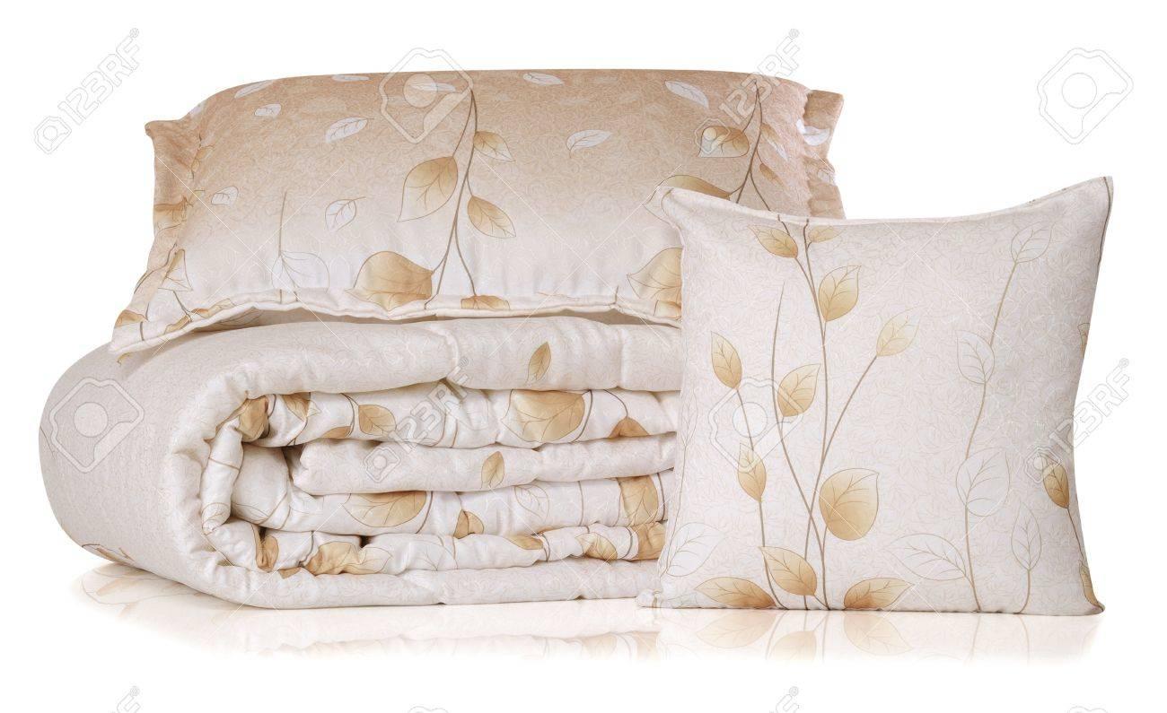 Bedding. Isolated Stock Photo - 9674847