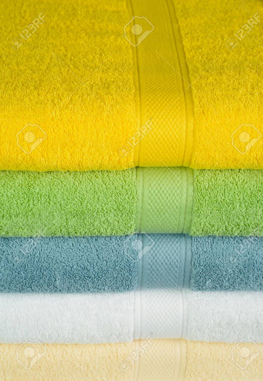 Bath towels Stock Photo - 24576485