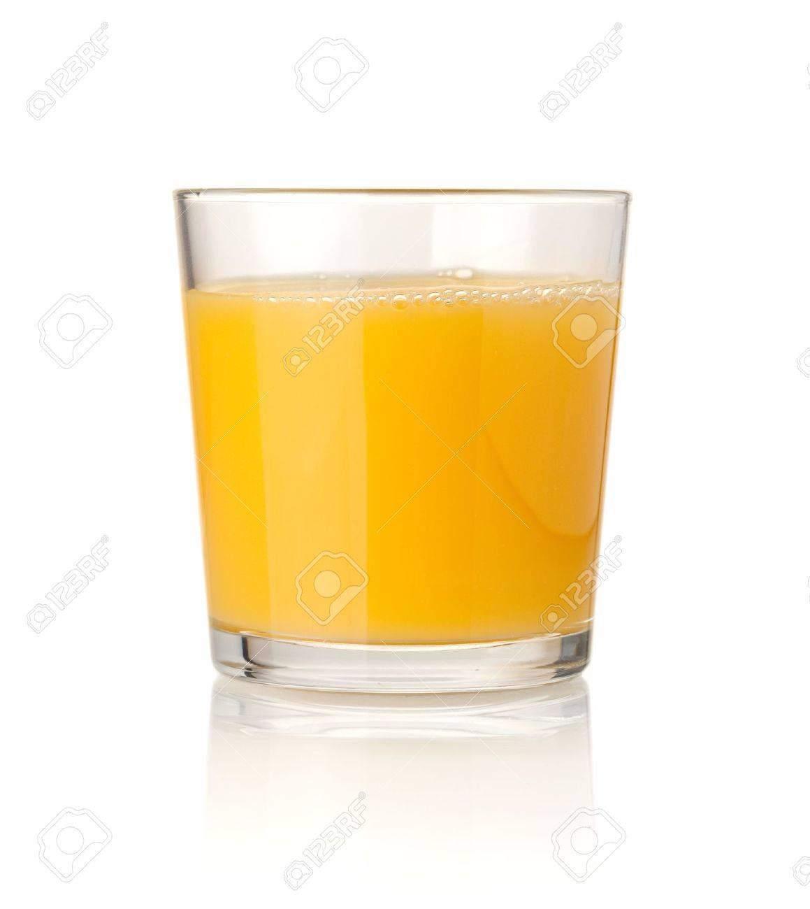 Orange juice. Isolated on white background Stock Photo - 7491930