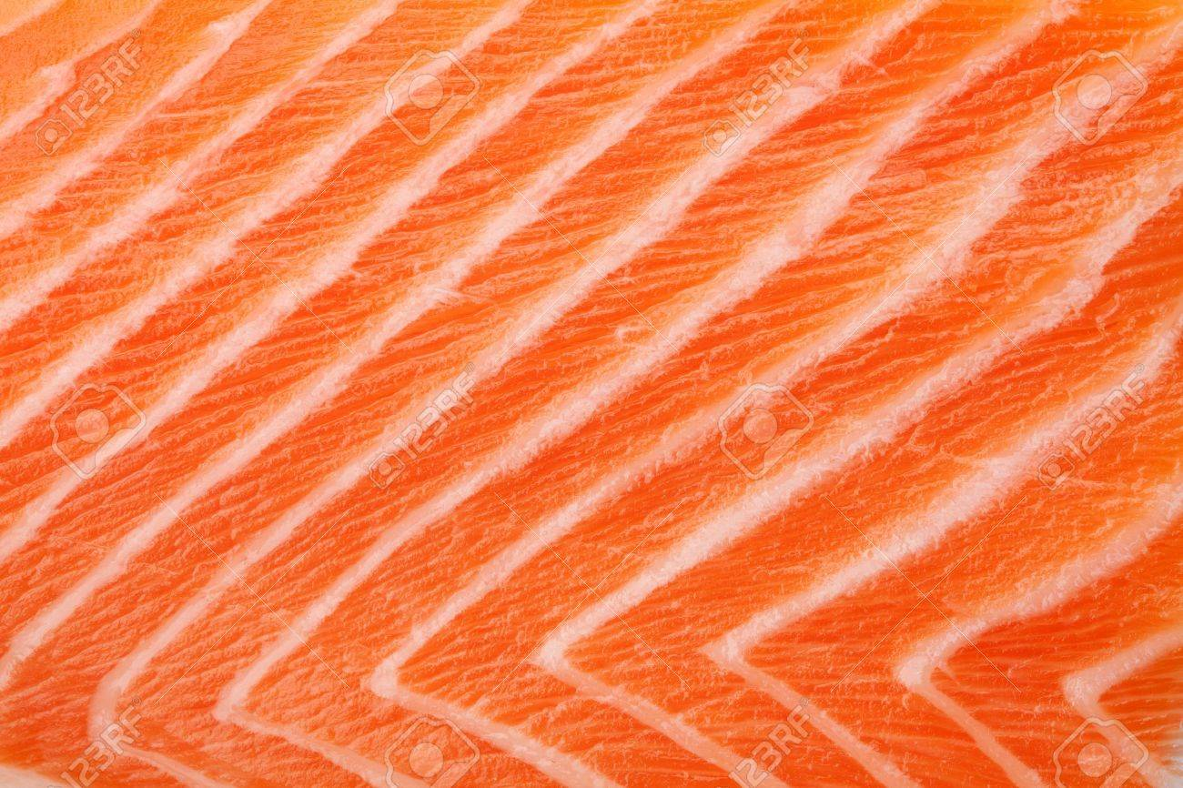 Fresh red salmon texture. Closeup Stock Photo - 8251278