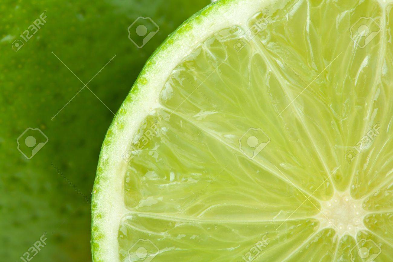 Ripe lime closeup with rind on background Stock Photo - 8445529
