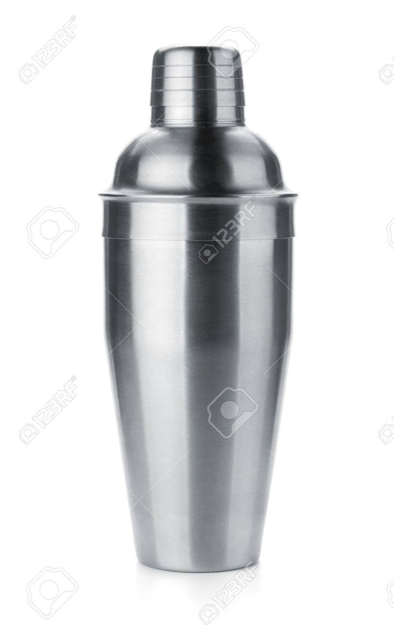 Cocktail shaker. Isolated on white background Stock Photo - 10513458