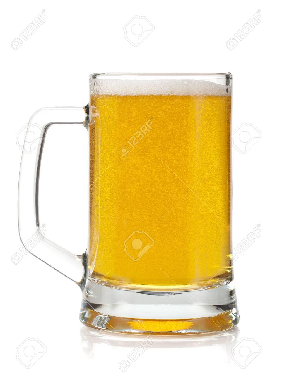 Beer mug  Isolated on white background Stock Photo - 15483714