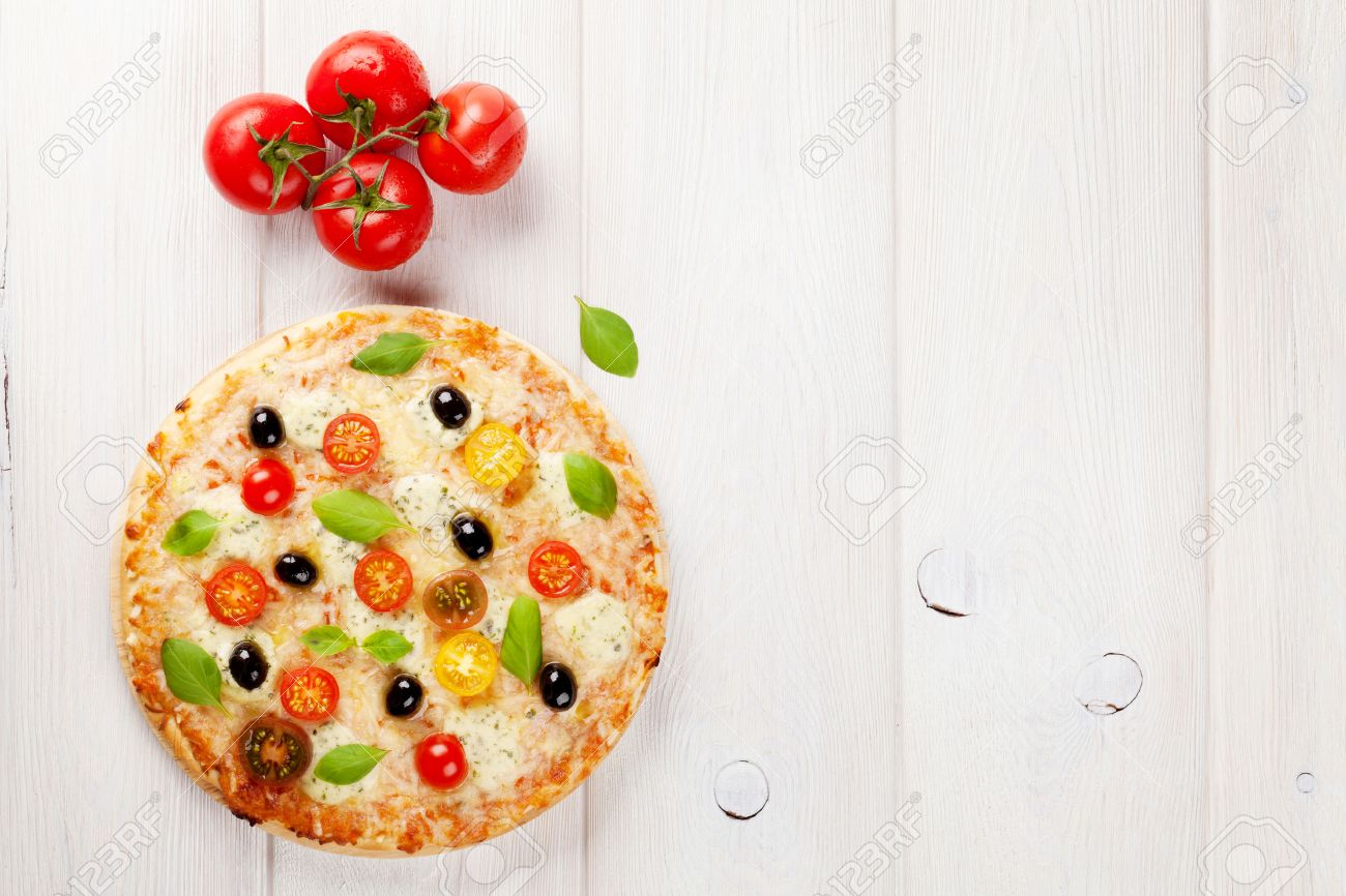 Pizza Top View Stock Photos. Royalty Free Pizza Top View Images