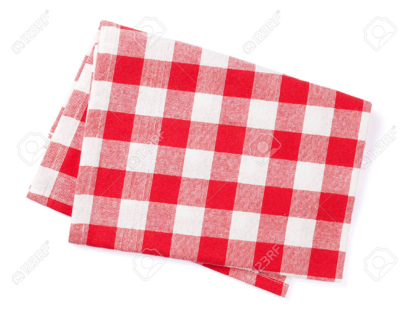 Kitchen towel. Isolated on white background - 50873564