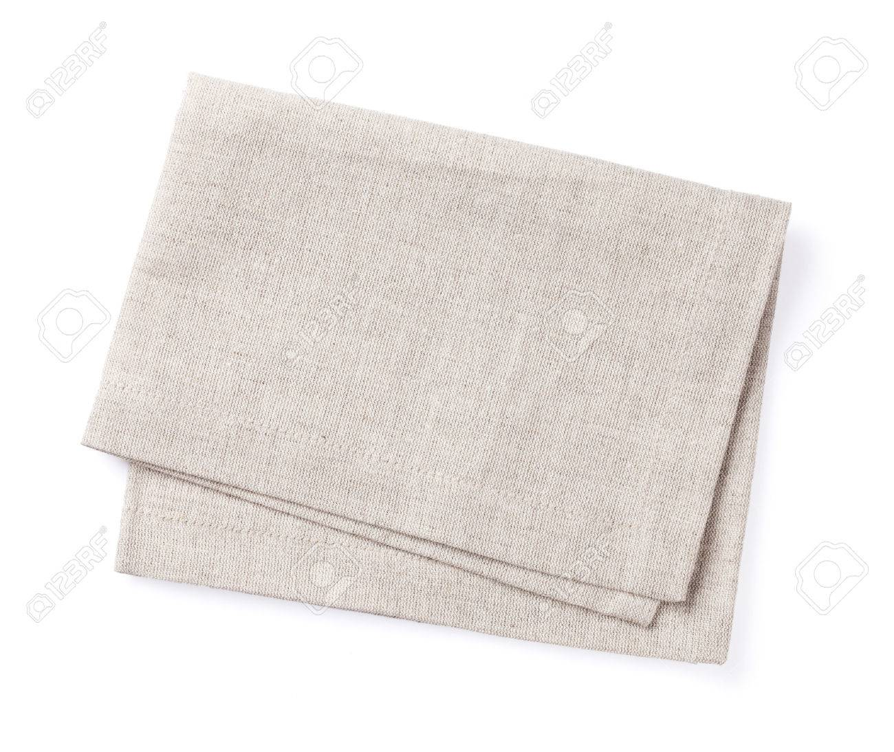 Kitchen towel. Isolated on white background - 50905118