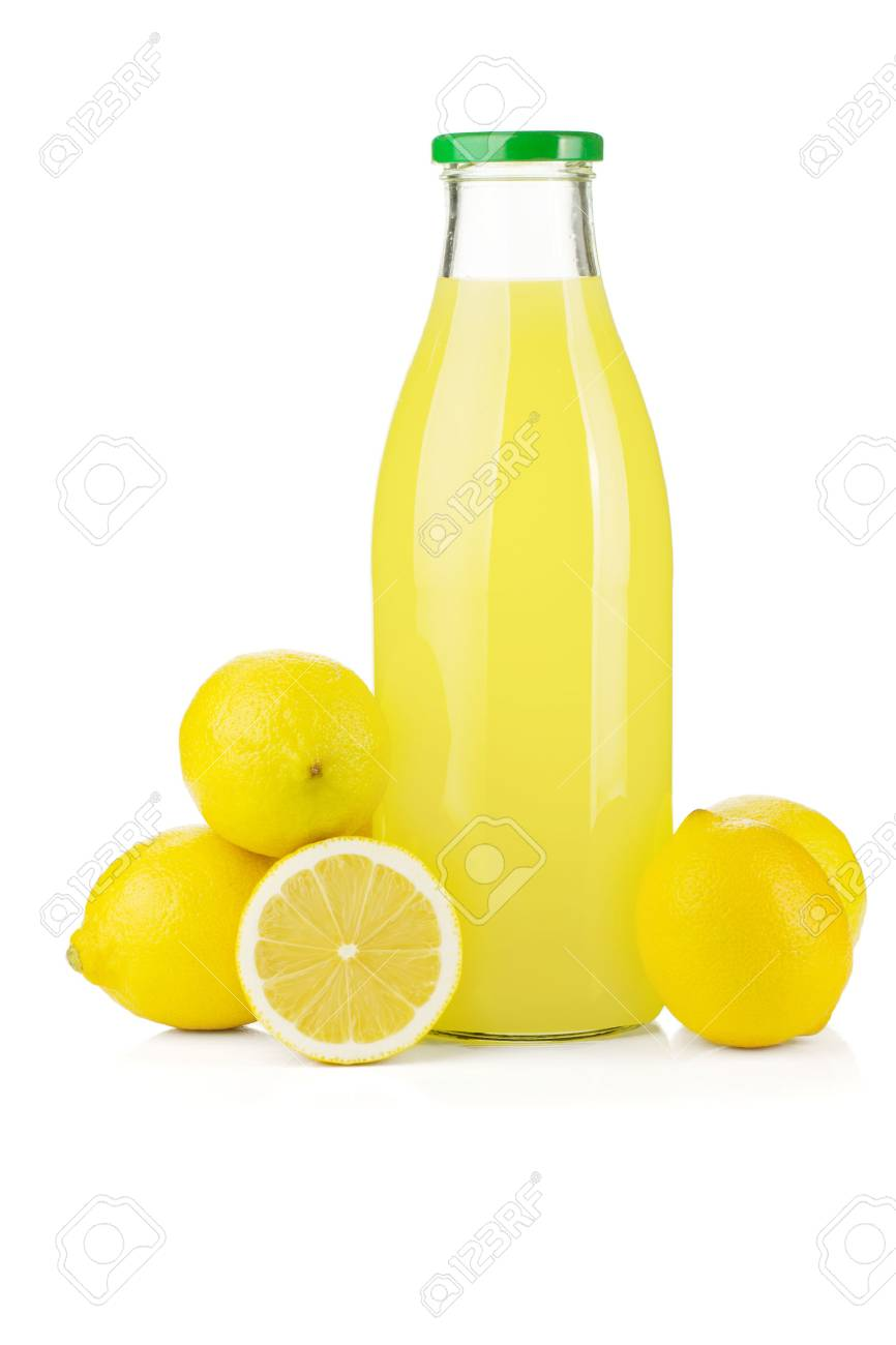 jugo limon botella
