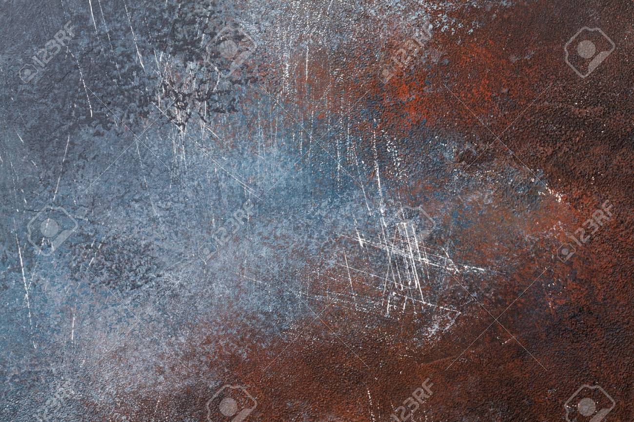 Old rusted metal texture background - 99190587