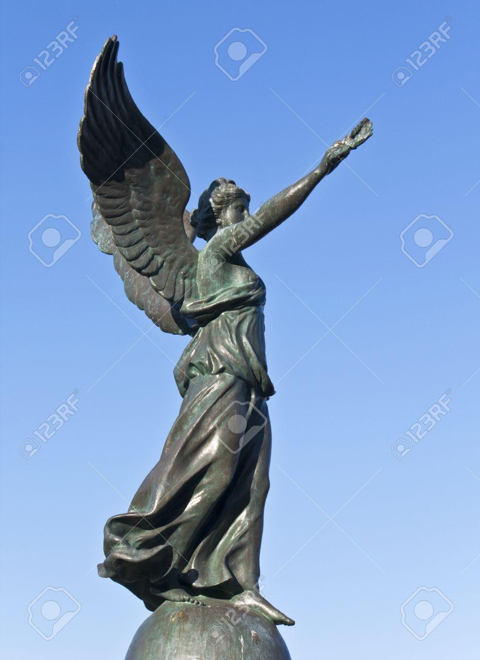 ギリシャのロードス島での勝利の...