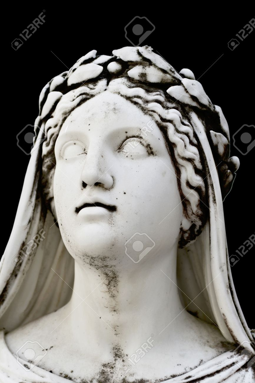 Greek Statues Face