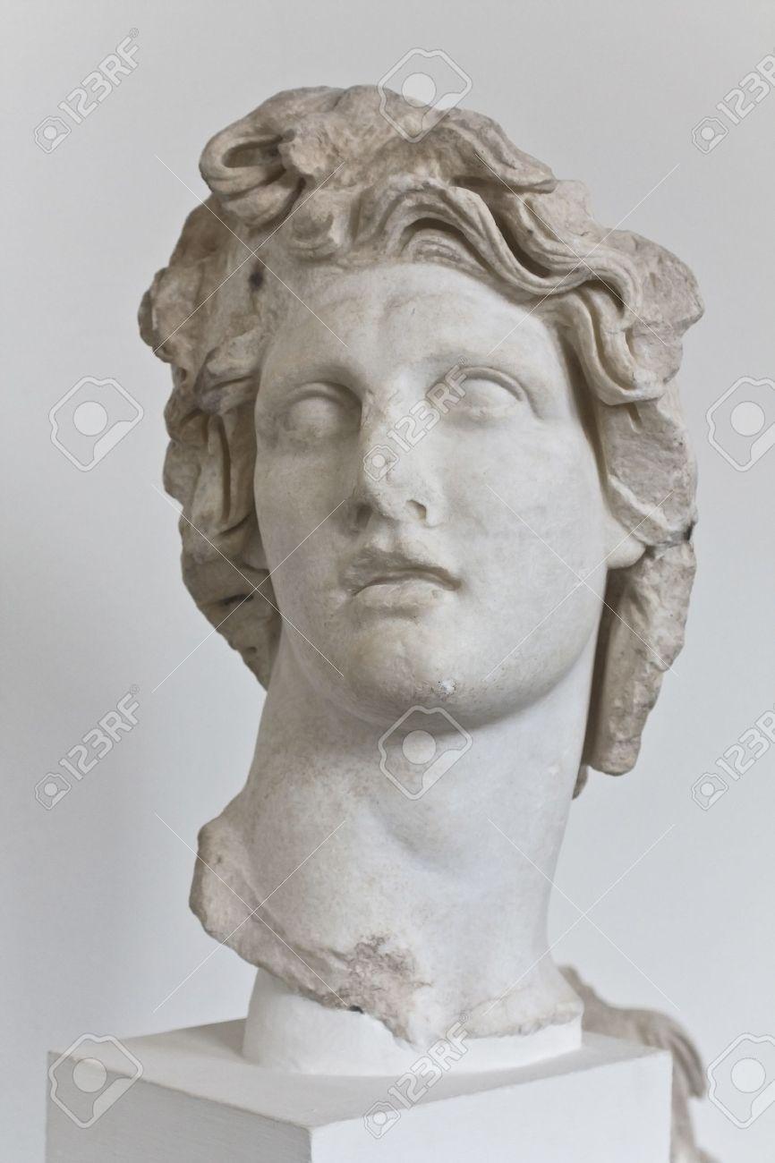 Statue of Apollo Greek God of Sun Stock Photo - 15906052