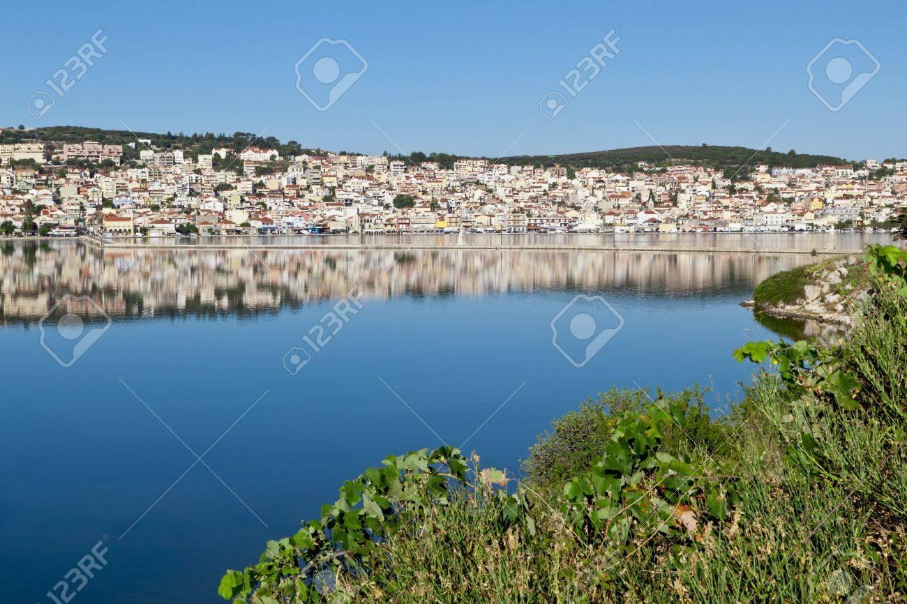 Argostoli city at Kefalonia island in Greece Stock Photo - 15945496