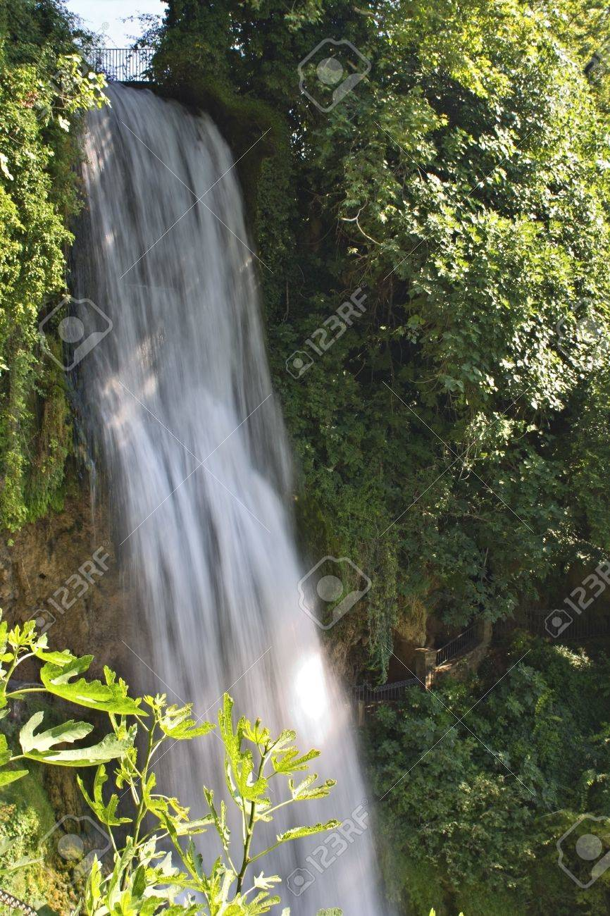 Waterfall at Edessa city in Greece Stock Photo - 16040143