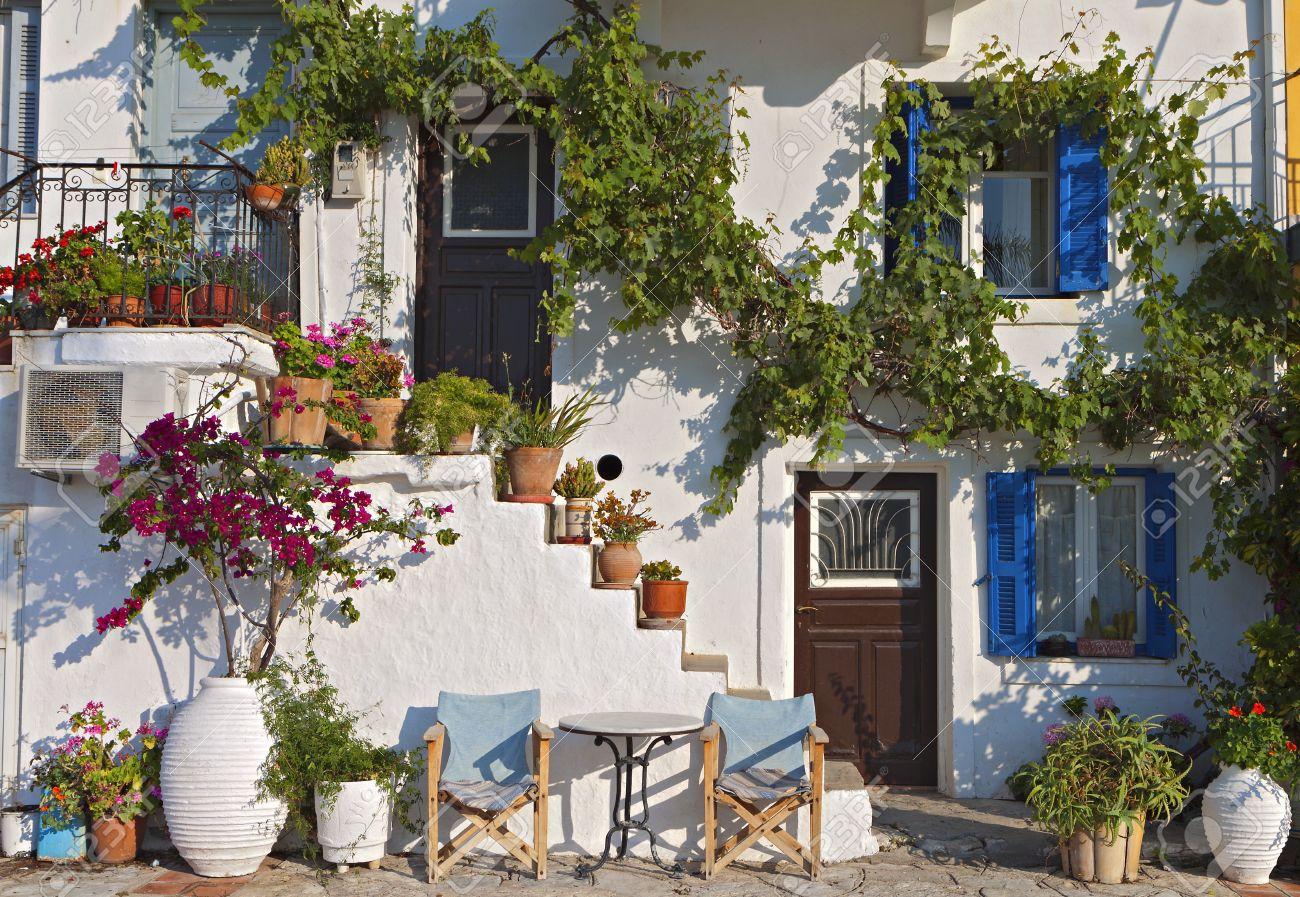 Traditional Greek House traditional greek house - home design