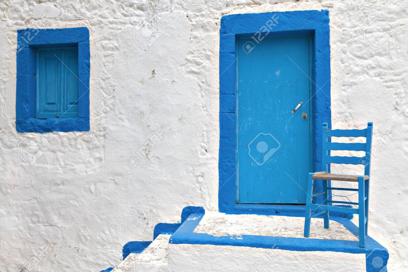 Traditional Greek House traditional greek house at kos island in greece stock photo