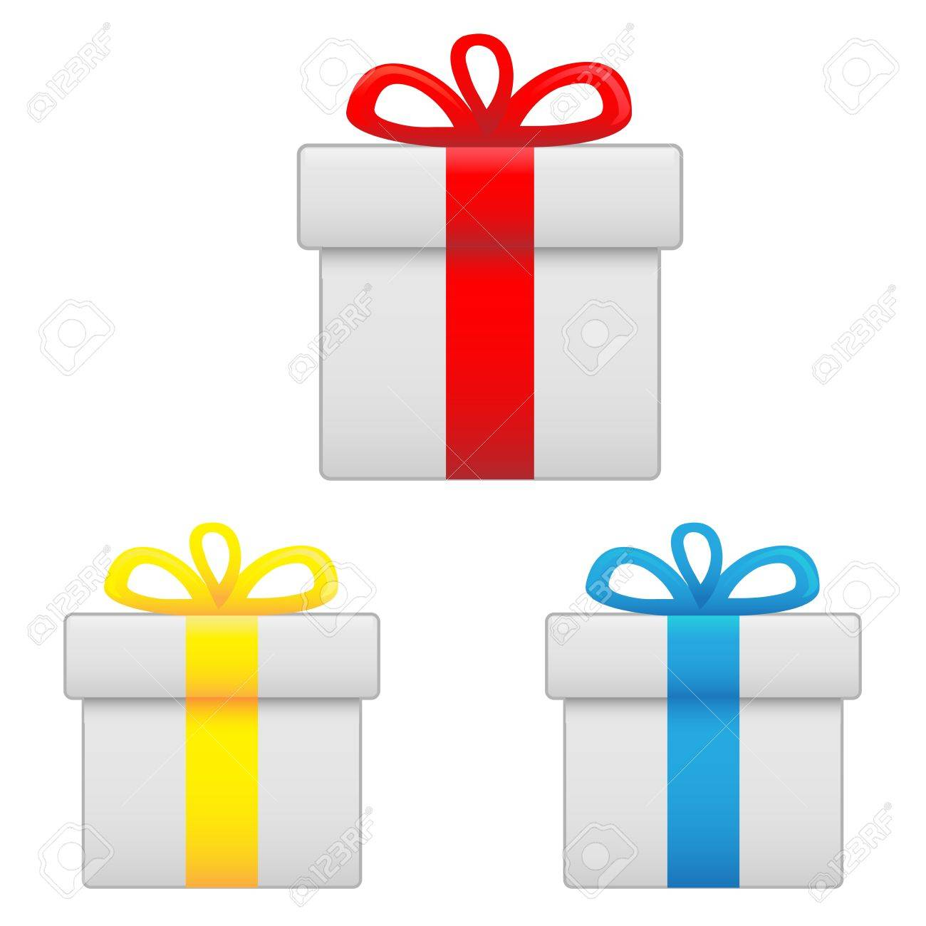 icon gift Stock Vector - 14594515