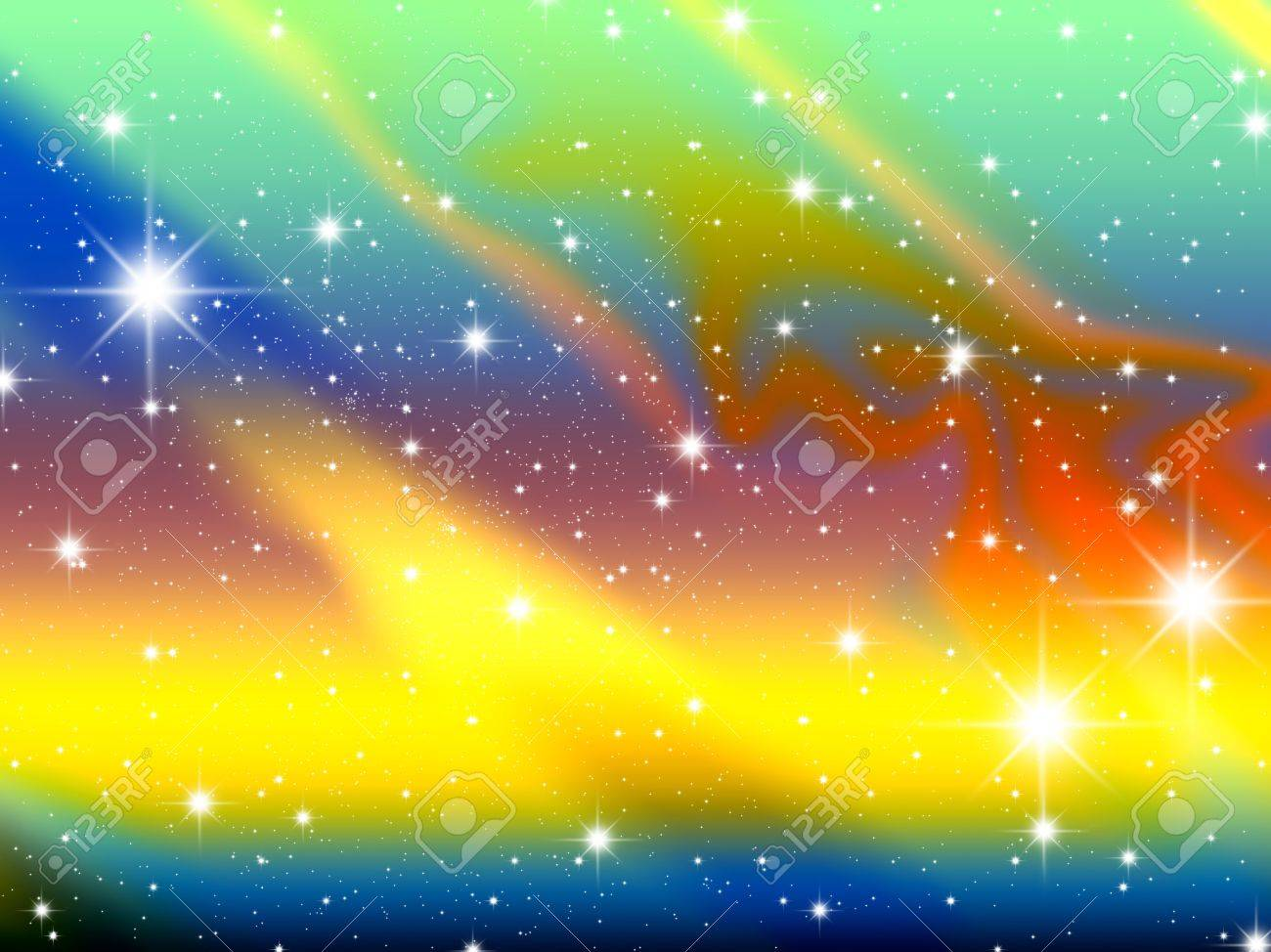 Space A Congestion Of Stars Astronomy Background Galaxy Stock