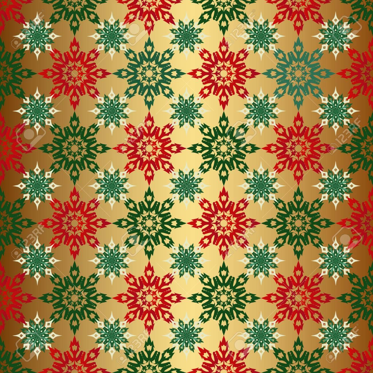 Transparente Couleur De Fond Noel Or Papier Peint Rouge Et Vert