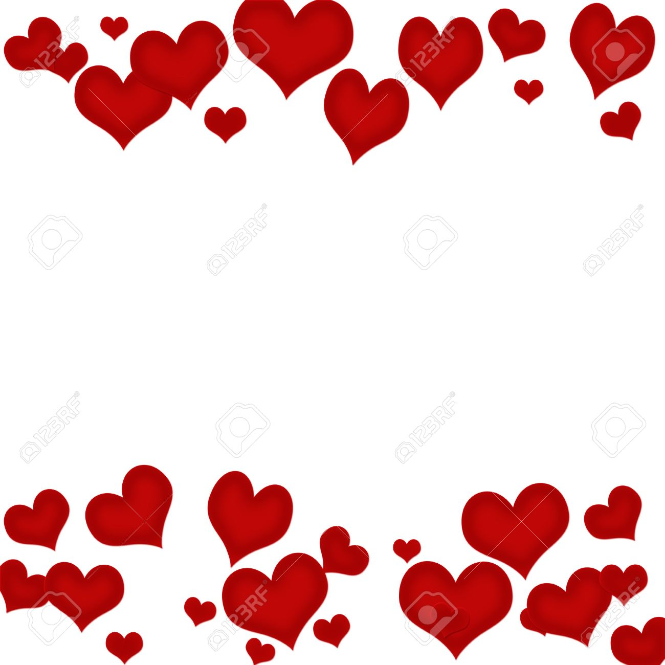 red hearts on a white background heart background stock photo rh 123rf com red heart transparent background red heart background design
