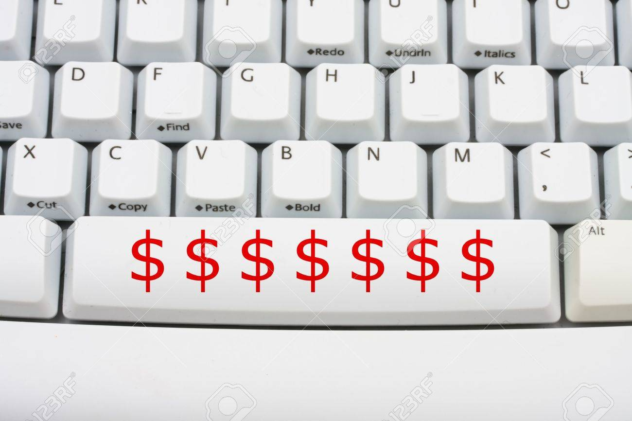 Dollar symbols in red on a computer keyboard donate money online dollar symbols in red on a computer keyboard donate money online stock photo 6290984 buycottarizona Gallery