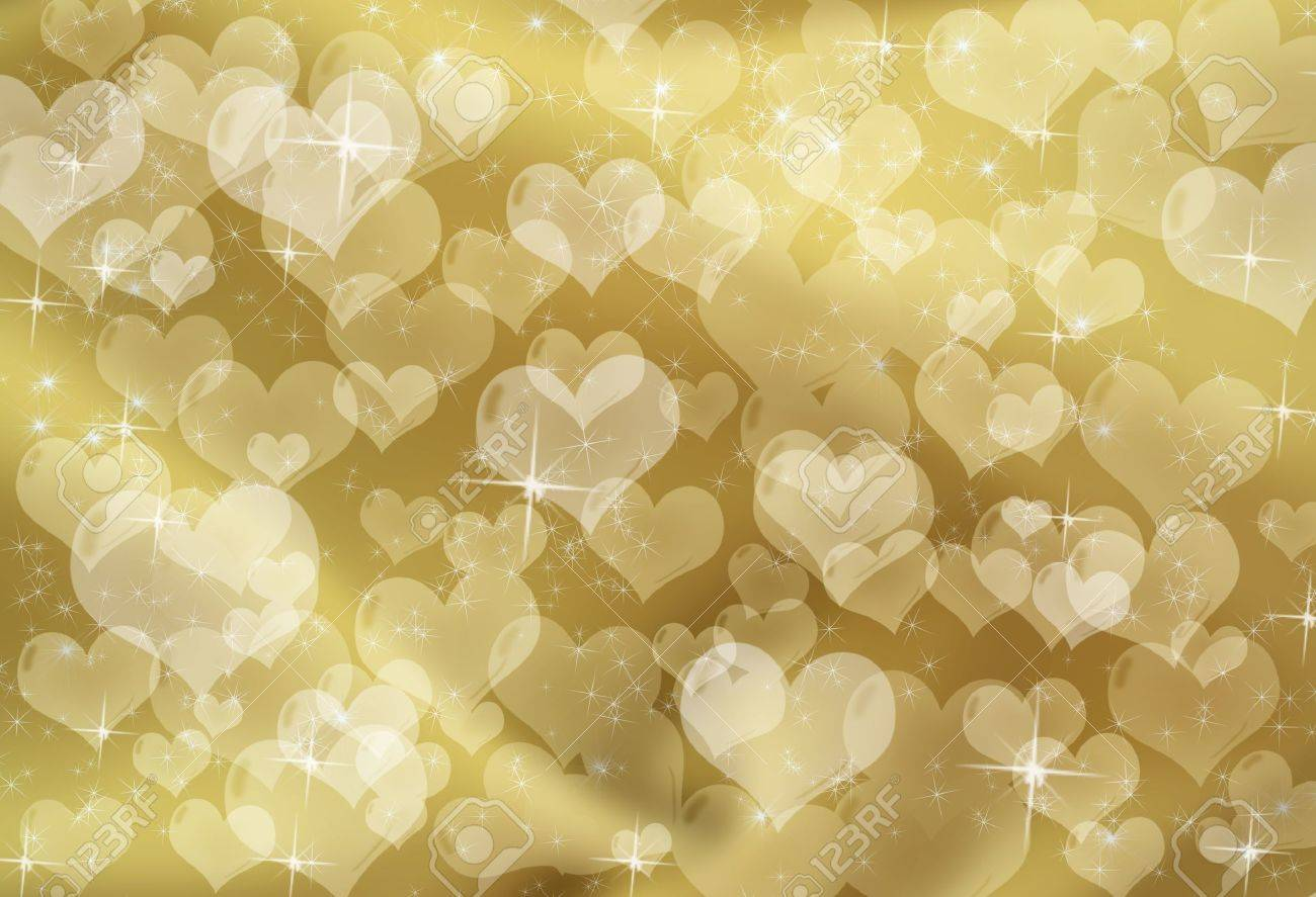 ЗОЛОТОЙ ФОН 8434806-gold-hearts-on-a-gold-sparkle-background-gold-heart-background