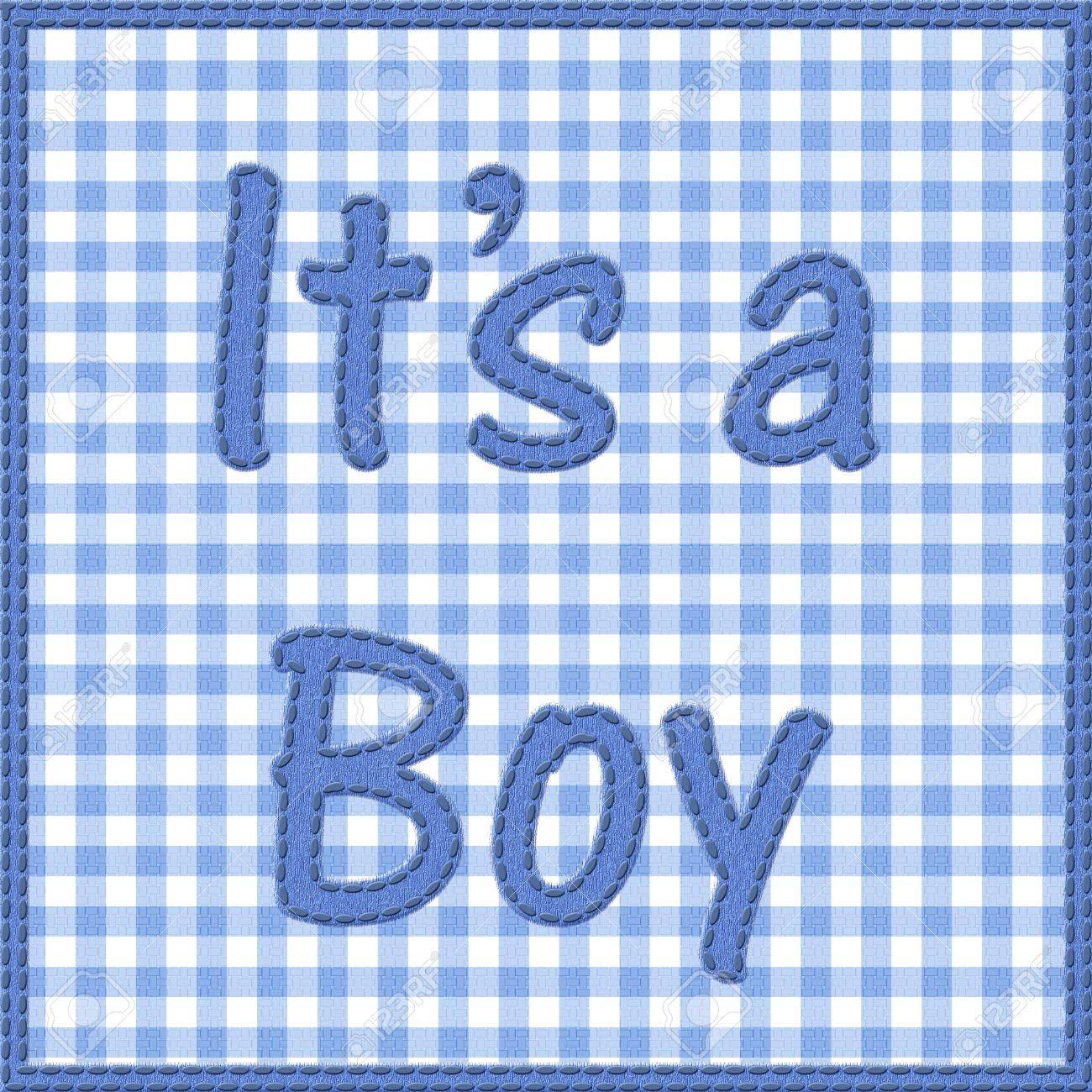 boy baby announcement