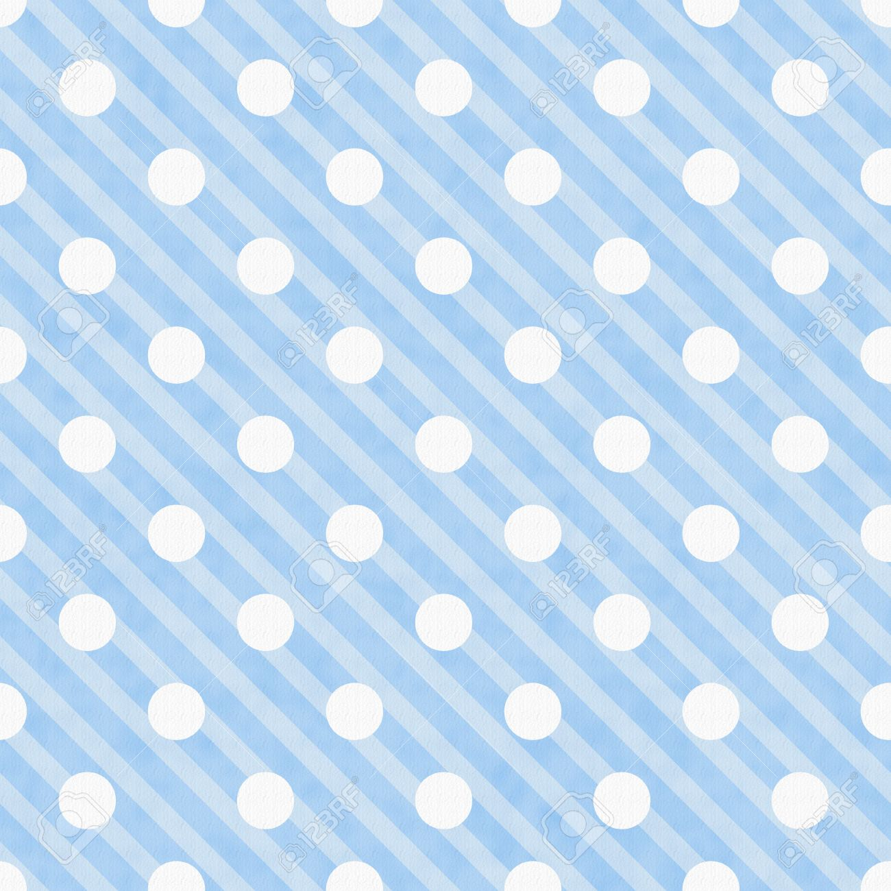 Blue And White Polka Dot Fabric Background That Is Seamless ...
