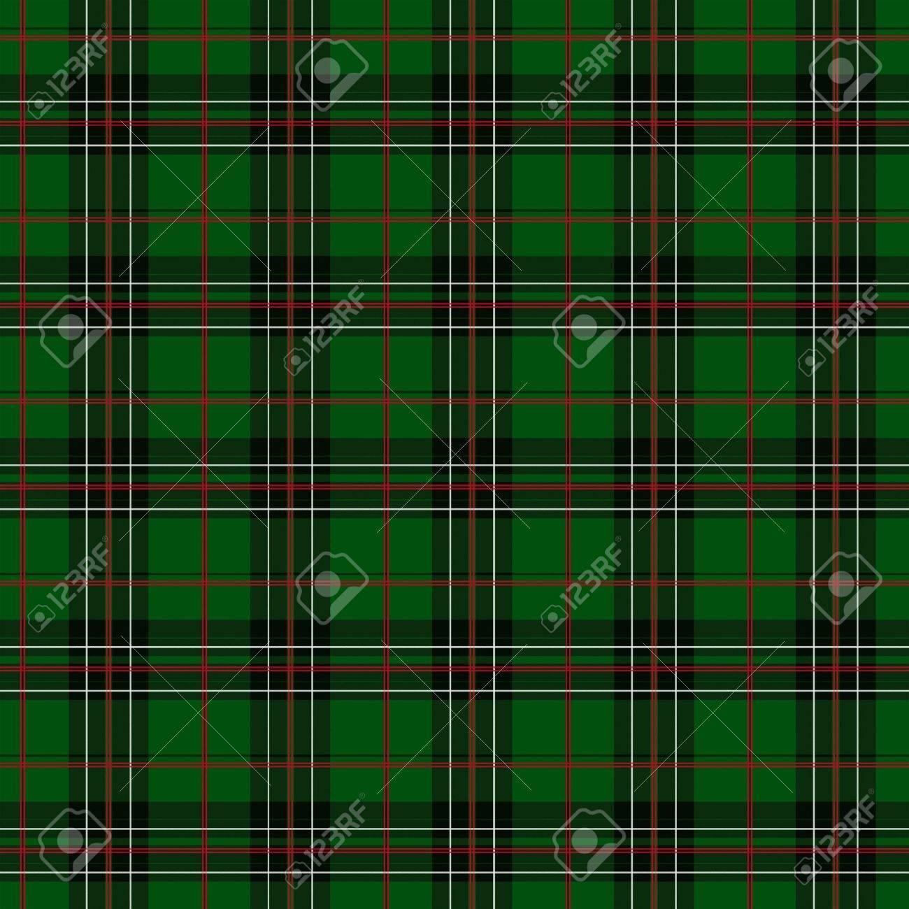 Immagini Stock Verde Sfondo Rosso Bianco E Nero Tessuto A Quadri