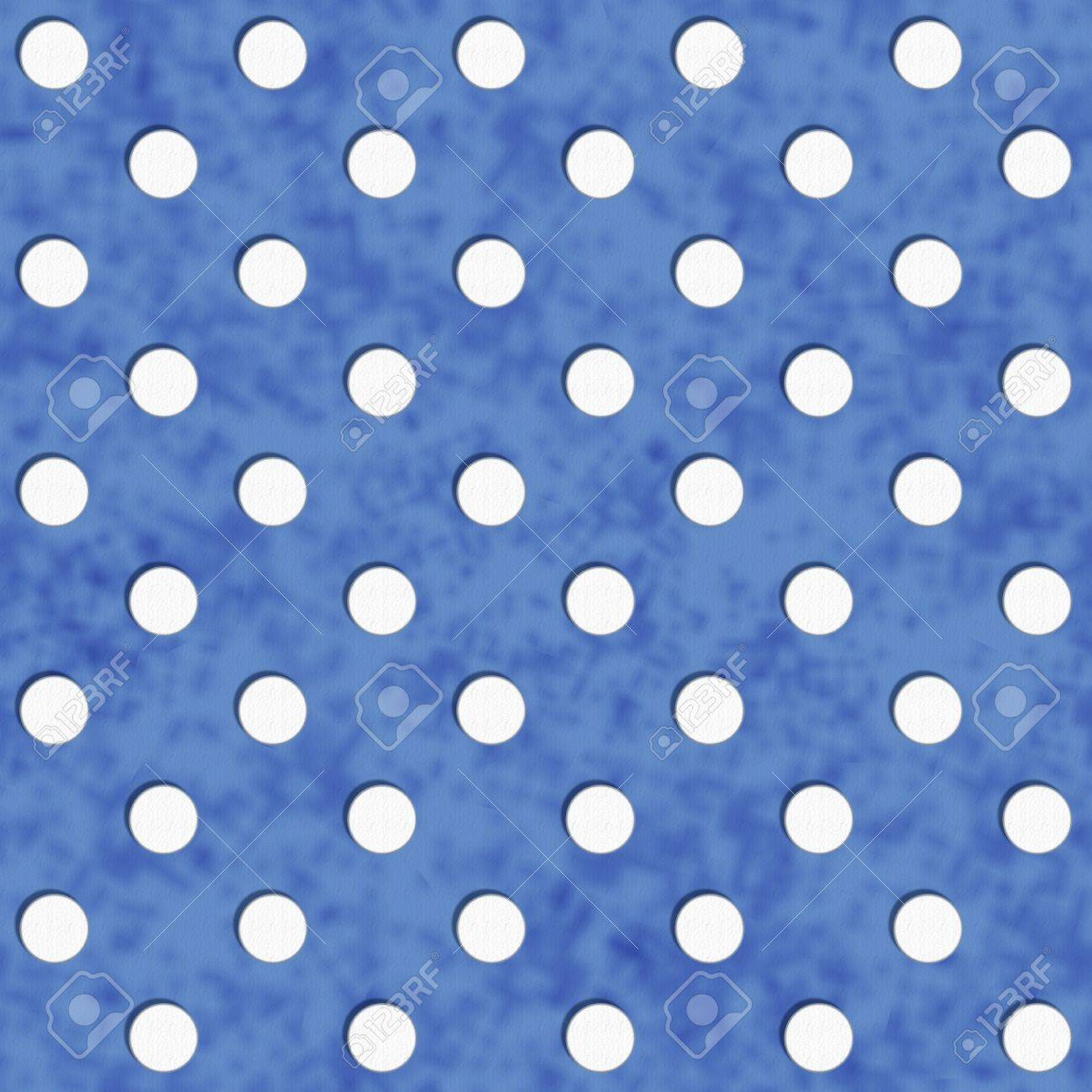 Navy Blue And White Polka Dot Fabric With Texture Background ...